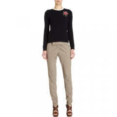 girl by Band of Outsiders Rose Intarsia Pullover at Barneys