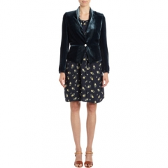 girl by Band of Outsiders Velvet Blazer at Barneys