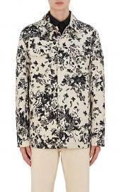 givenchy Hydrangea-Print Cotton Shirt Jacket at Barneys