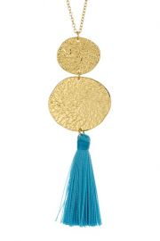 gorjana Phoenix Pendant Necklace in Lagoon at Nordstrom