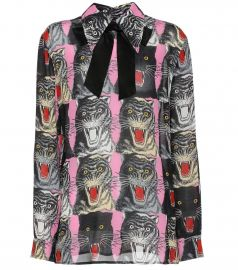 62bdc96bb WornOnTV: Erika's pink panther print blouse on The Real Housewives of Beverly  Hills   Erika Girardi   Clothes and Wardrobe from TV