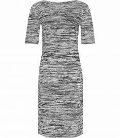 harry KNITTED SHORT SLEEVED DRESS at Reiss