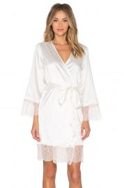 homebodii Bride Embroidered Robe at Revolve