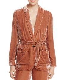 https://www.bloomingdales.com/shop/product/joie-anasophia-velvet-jacket-100-exclusive?ID=2628529 at Bloomingdales
