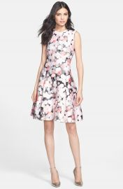 kate spade new york   x27 emma  x27  fit  amp  flare dress at Nordstrom