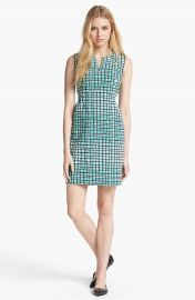 kate spade new york  samantha  stretch cotton sheath dress at Nordstrom