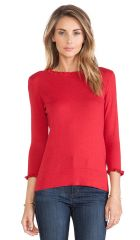 kate spade new york Bekki Sweater in Dynasty Red  REVOLVE at Revolve