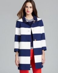 kate spade new york Franny Coat with Back Bow Belt at Bloomingdales