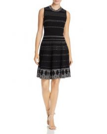 kate spade new york Stripe Rib Knit Dress at Bloomingdales