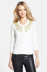 kate spade new york and39arcadiaand39 embellished cardigan at Nordstrom