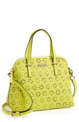kate spade new york and39cedar street - maiseand39 perforated leather satchel at Nordstrom