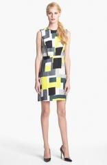kate spade new york della sleeveless print dress at Nordstrom