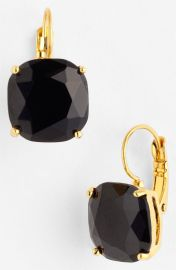 kate spade new york drop earrings in Jet at Nordstrom