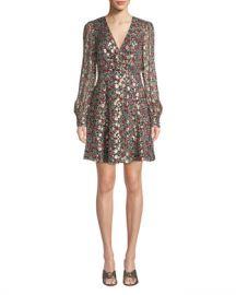 kate spade new york floral park v-neck dress at Neiman Marcus