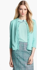 kate spade new york sofia cashmere blend cardigan in sea glass at Nordstrom