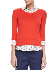 kate spade new york yardley sweater at Neiman Marcus