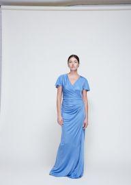 long ruched dress lanvin at Totokaelo