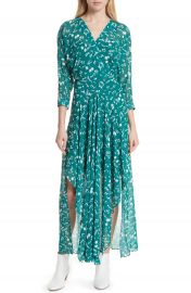 maje Floral Print Maxi Dress  Nordstrom Exclusive at Nordstrom