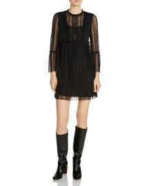maje Rezane Swiss Dot Dress at Bloomingdales