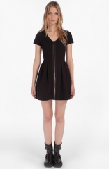 maje and39Datypicand39 Stretch Fit andamp Flare Dress at Nordstrom