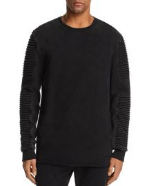 nana judy Montana Biker Sleeve Crewneck Sweatshirt at Bloomingdales