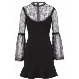 nicholas lace mini dress at The Real Real