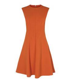 panelled a line dress at Karen Millen