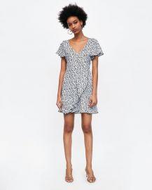 polka dot print dress at Zara