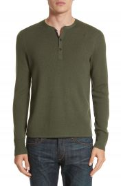 rag   bone Gregory Merino Wool Blend Henley at Nordstrom