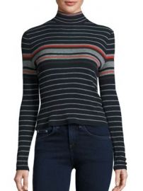 rag   bone JEAN - Striped Turtleneck Sweater at Saks Fifth Avenue