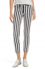 rag   bone JEAN Capri Skinny Jeans  Benton Stripe at Nordstrom