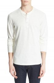rag   bone Standard Issue Slub Cotton Henley at Nordstrom