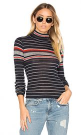 rag  amp  bone JEAN Rib Turtleneck Sweater in Salute Stripe from Revolve com at Revolve