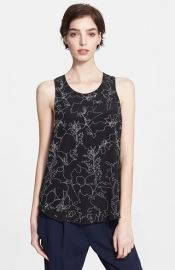 rag and bone Patricia Print Silk Top at Nordstrom