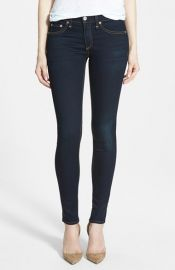 rag and boneJEAN The Skinny Mid Rise Jeans at Nordstrom