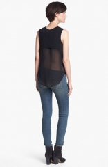 rag andamp bone Fleet Tank in black at Nordstrom