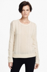 rag andamp bone Peyton Cabled Sweater at Nordstrom