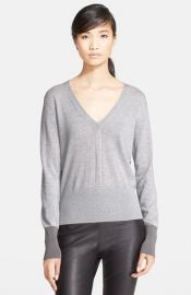 rag andamp bone and39Jessicaand39 Merino Wool V-Neck Sweater at Nordstrom