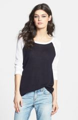 rag andamp boneJEAN and39Lexieand39 Open Knit Sleeve Pullover at Nordstrom