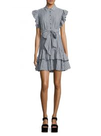 rebecca taylor Yarn-Dyed Striped Dress at Saks Off 5th