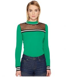 red valentino stretch viscose pullover point desprit at Zappos