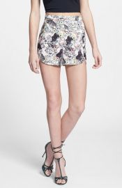 renamed Cat Print High Rise Shorts at Nordstrom