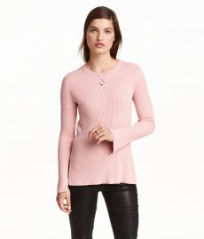 ribbed sweater at H&M