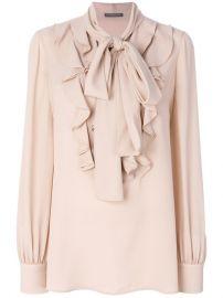 ruffled blouse at Farfetch