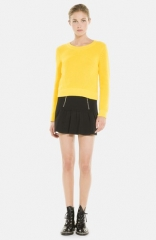 sandro Joyeuse Gathered Skirt at Nordstrom
