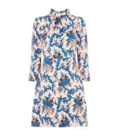 sandro Utopique Floral Silk Sheath Dress at Saks Fifth Avenue