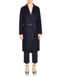 sandro miki coat at Bloomingdales