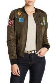 sebby Patch Embellished Bomber Jacket at Nordstrom Rack
