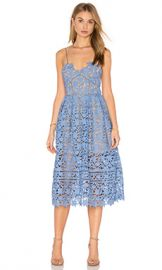 self-portrait Azaelea Dress in Blue from Revolve com at Revolve