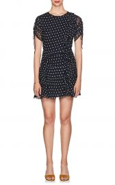 sirt the label MARCEAU POLKA DOT SILK DRESS at Barneys